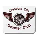 Crescent City Scooter Club Mousepad