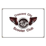 Crescent City Scooter Club Banner