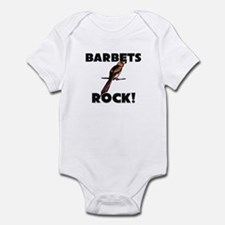 Barbets Rock! Infant Bodysuit