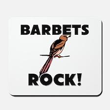 Barbets Rock! Mousepad
