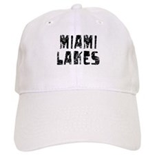 Miami Lakes Faded (Black) Baseball Cap