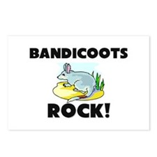 Bandicoots Rock! Postcards (Package of 8)
