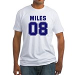Miles 08 Fitted T-Shirt