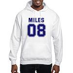 Miles 08 Hooded Sweatshirt