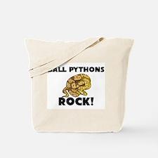 Ball Pythons Rock! Tote Bag