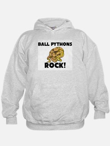 Ball Pythons Rock! Hoodie