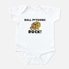 Ball Pythons Rock! Infant Bodysuit