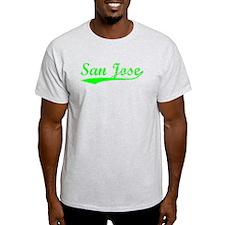 Vintage San Jose (Green) T-Shirt