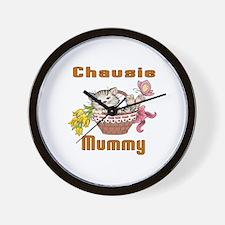 Chausie Cat Designs Wall Clock