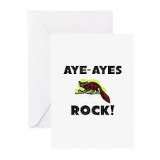 Aye-Ayes Rock! Greeting Cards (Pk of 10)