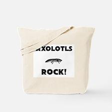 Axolotls Rock! Tote Bag
