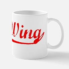 Vintage Red Wing (Red) Mug
