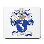 Catala Family Crest Mousepad