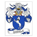 Catala Family Crest Small Poster