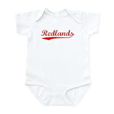 Vintage Redlands (Red) Infant Bodysuit