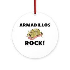 Armadillos Rock! Ornament (Round)