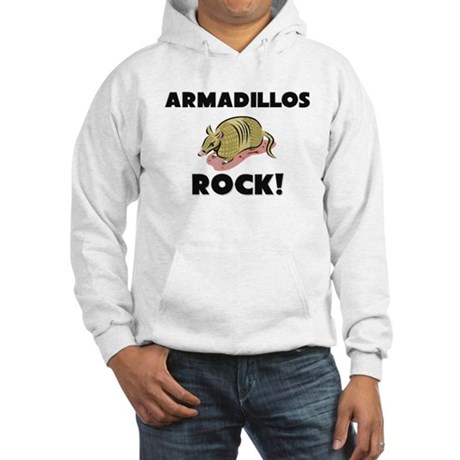 Armadillos Rock! Hooded Sweatshirt