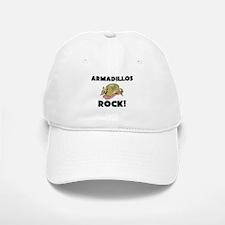 Armadillos Rock! Baseball Baseball Cap