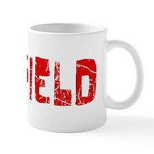 Garfield Faded (Red) Mug