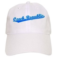 Retro Czech Republic (Blue) Baseball Cap