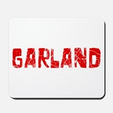 Garland Faded (Red) Mousepad
