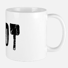 Minot Faded (Black) Mug