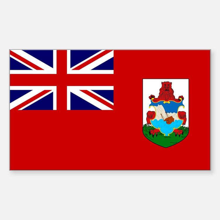 Bermuda Rectangle Decal