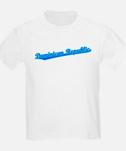 Retro Dominican Re.. (Blue) T-Shirt