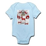 Cervera Family Crest Infant Creeper