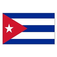 Cuba Rectangle Bumper Stickers