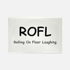 ROFL Rectangle Magnet