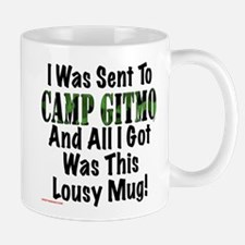 Camp Gitmo Small Small Mug