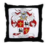 Chacon Family Crest Throw Pillow