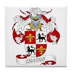 Chacon Family Crest Tile Coaster