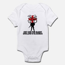 Cry God for Harry,England & St George Onesie