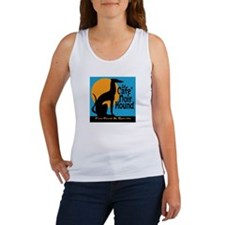Le Cafe' Noir Hound Women's Tank Top