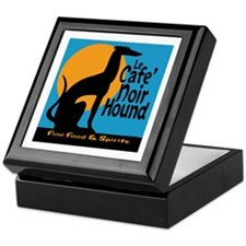 Le Cafe' Noir Hound Keepsake Box