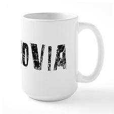 Monrovia Faded (Black) Mug