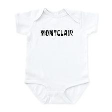 Montclair Faded (Black) Infant Bodysuit