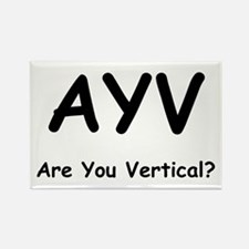 Are You Vertical? Rectangle Magnet