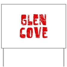 Glen Cove Faded (Red) Yard Sign