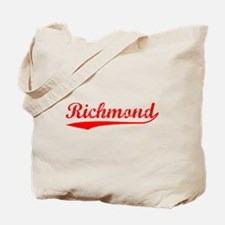 Vintage Richmond (Red) Tote Bag