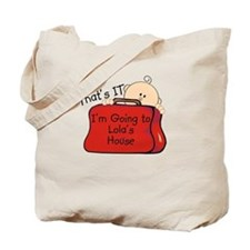 Going to Lola's Funny Tote Bag