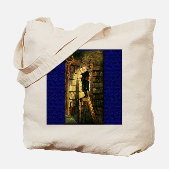 """The Bookworm"" Tote Bag"