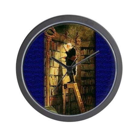 """The Bookworm"" Wall Clock"