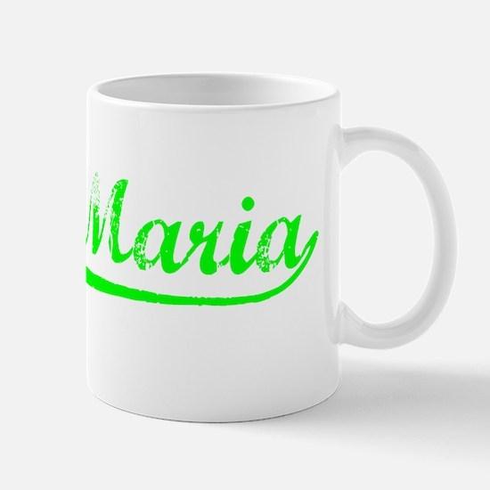 Vintage Santa Maria (Green) Mug