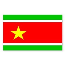 guadeloupe Rectangle Decal