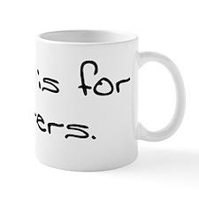 Funny Paris shopping Mug