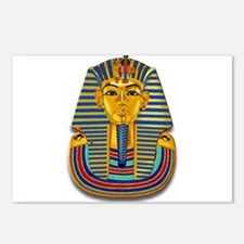 King Tut Mask #2 Postcards (Package of 8)