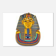 King Tut Mask #2 Postcards (Package of 8)